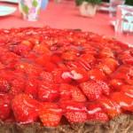 Limetten-Erdbeer-Tarte