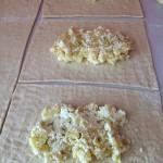 Zubereitung der Empanadas