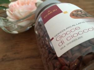 Schokoladenstückchen aus dem Hause DOMORI
