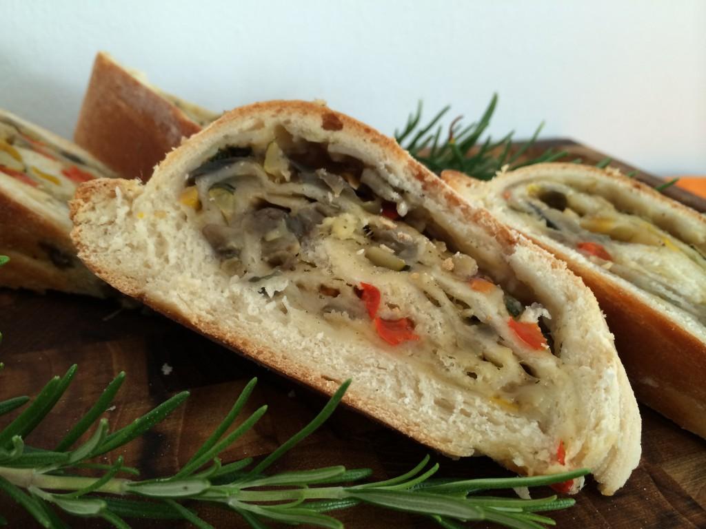 Ratatoulli-Brot