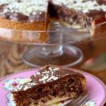 Schokoladen-Kirsch-Kuchen