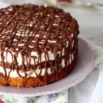 Nougat-Walnuss-Torte