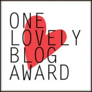 One Lovely Blog Award - MaLu's Köstlichkeiten